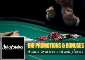 Juicy Stakes Casino promotions and bonuses
